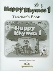 ksiazka tytuł: Happy Rhymes 1 Teacher's Book autor: Dooley Jenny, Evans Virginia
