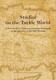 ksiazka tytuł: Studies on the Turkic World autor: